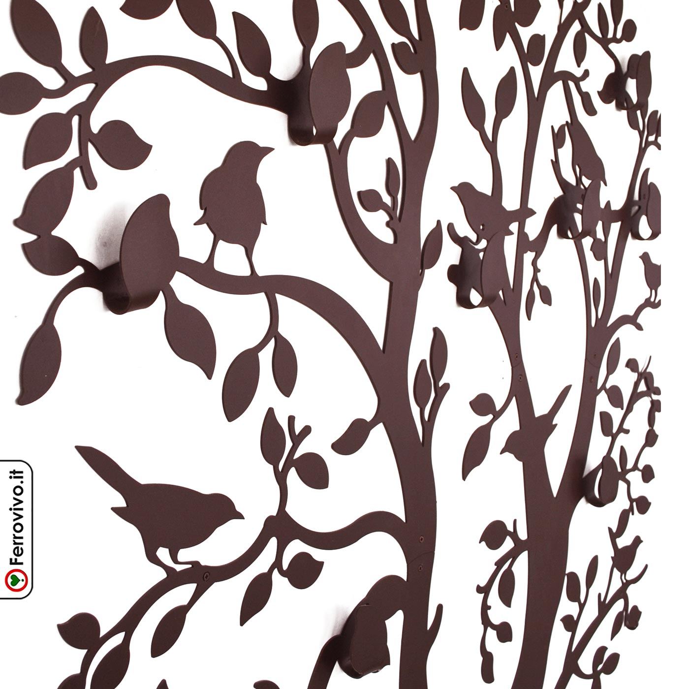 Appendiabiti a forma di albero da parete Roma   Ferrovivo   Sito ...