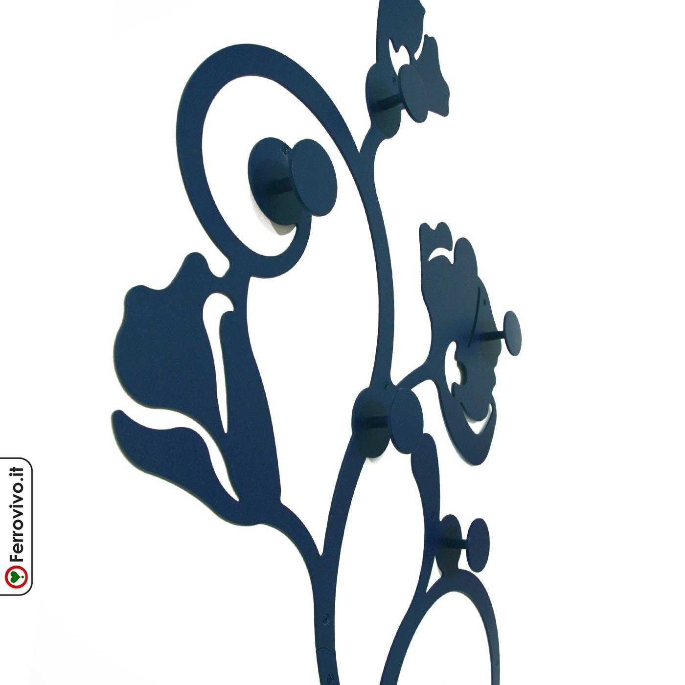 Pomelli Appendiabiti Colorati.Attaccapanni Design Da Parete Yokohama Ferrovivo Sito Ufficiale