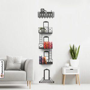 libreria-ferro-soggiorno-design