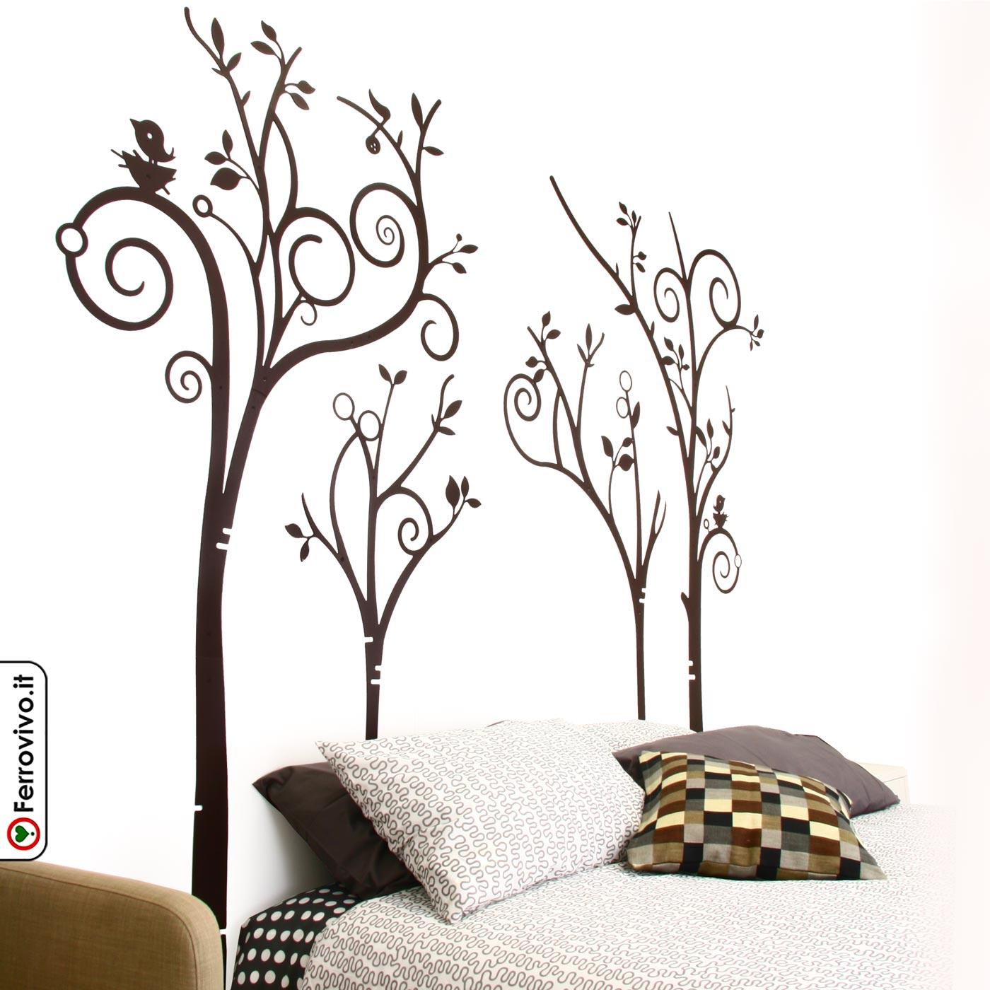 Idee Testiera Letto Matrimoniale testata letto matrimoniale alberi | ferrovivo | testiera
