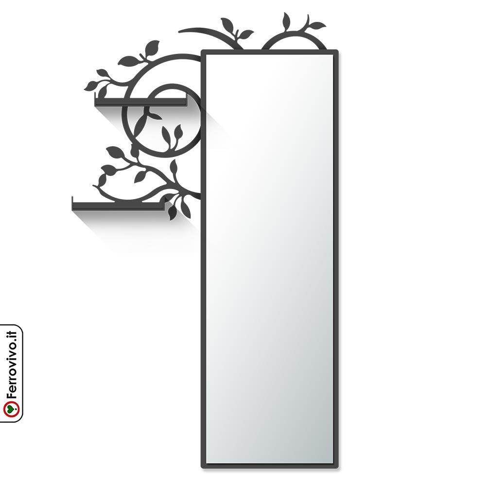 Specchio con Mensole Trastevere