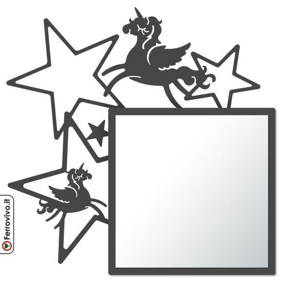 specchio-da-bambini- a- forma-di-unicornounicorno