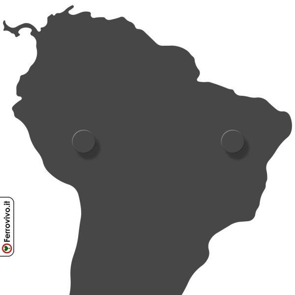 Attaccapanni carta geografica