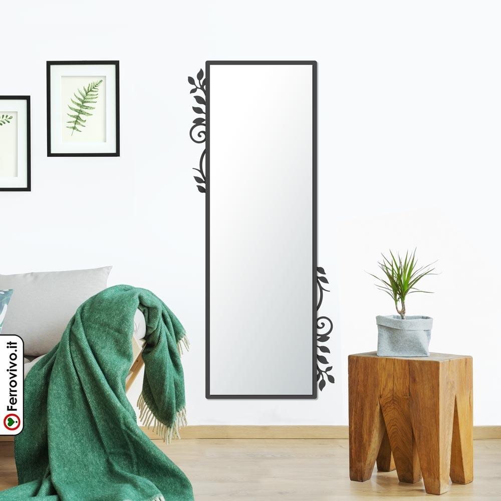 Pareti A Specchio Design specchio da parete trastevere   ferrovivo   specchi da ingresso