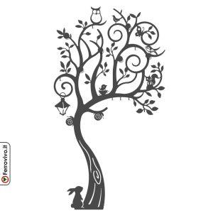 albero appendiabiti