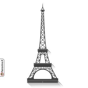 Tour-Eiffel-decorazione-da-parete-con-mensole