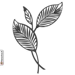decorazione-da-parete-foglie