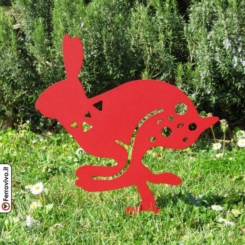 sagoma-da-giardino-in-ferro-coniglio-in-corsa