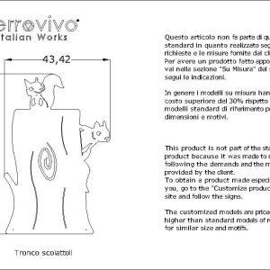 tronco-scoiattoli-design-moderno